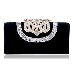 0067aa79d5b71 Clutch Abendtaschen Krone Strass Abendtaschen Geldbörse Umhängetasche für  Hochzeit Diamonds Lady Purse Mini Evening Bags günstige kronenkupplung ...