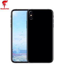 Wholesale Wireless Micro Camera Android - Face ID Goophone X IX 5.8 inch Full Screen MTK6580 Quad Core Android 7.0 Rom 16GB Ram 1GB Smartphone 3G Unlocked Cellphones