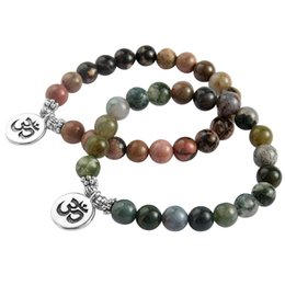 Colorful Natural Mixed Color Stone Beads Lucky Bracelet With 3D Pendant Charm For Women Men Fashion Jewelry Gift cheap mixed lucky stone от Поставщики смешанный счастливый камень