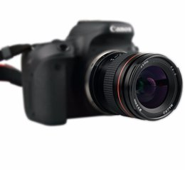 Enquadra o foco on-line-35mm F2.0 Fixo Foco Grande Manual de Abertura Lente Quadro Completo Para Canon 550D 600D 650D 750D 5D 6D 7D Nikon DSLR Câmeras