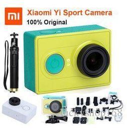 Argentina Original Xiaoyi Sports Camera Xiaomi yi WiFi Action Mi Sport Camera 16MP 60FPS WIFI Ambarella Bluetooth 4.0 impermeable Smart Cam Free DHL Suministro