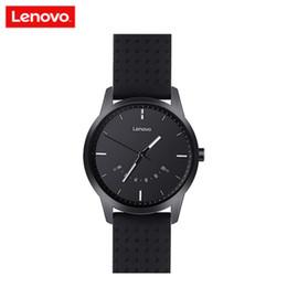 2019 lenovo android Smart Watch originale per l'orologio Lenovo Watch 9 Smart Watch Impermeabile Chiamate notifiche Sapphire Tracker IOS Android Smart Band lenovo android economici
