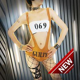 mostrar patrones de ropa Rebajas Nuevo patrón Bar Ds Show Serve Venta de ropa interior sexy Mujer Dj Discoteca Dance Hip Hop Hip-hop Performance Ropa de escena Disfraces de Halloween