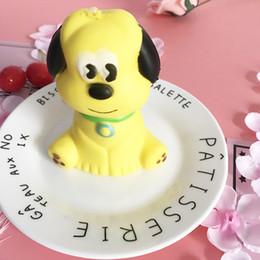 Encantos de dibujos animados del teléfono celular online-Kawaii Cartoon Dog Shape Squishy Descompresión mano Squeeze teléfono celular encanto Cute Animal Vent Squishies alta calidad 10mh CB