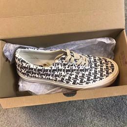 Sapatos visvim on-line-2018 Medo de Deus sapatos de Lona Nevoeiro 2017 Vetements Sapatos Casuais Sapatilhas de Moda VisVim TEMOR DE DEUS x Era 95 Sapatos de lona Reedição FOG