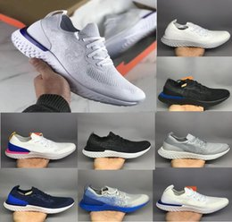 Wholesale instant black - 2018 Top Quality New Ten Colors Epic React Women Men causal Shoes Fashion Instant Go Fly Breathable Comfortable Sports Sneaker Boost Cheap