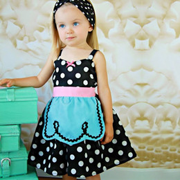 Wholesale Mouse Outfits - 2018 New Baby Girl Dot Dress Bow Cartoon Mouse Outfits Children Girl's Tutu Skirt Party Wear Kids Boutique Clothing Girl Christmas Dress