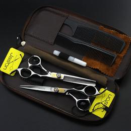 rechte hand Rabatt Rechte Hand JASON HB-01 Edelstahl 6,0 Zoll Haar schneiden / Effilierschere, 6CR 62HRC Haarschere Kit