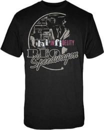 efa4a2fbc Reo Speedwagon Circle Hi Infidelity T Shirt S-M-L-Xl-2Xl New Official T- Shirt For Men Geek Custom Short Sleeve Plus Size Party T-Shirts