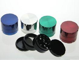 Wholesale Wholesale Tobacco Accessories - New Smoking grinder Herb grinder tobacco grinder Metal grinders brand CNC grinders mix colors Smoking Accessories
