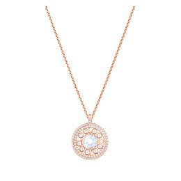 2d54bc646957 Charm Original Love Flow Collar de piedras preciosas brillantes Oro rosa  Retro Moda Tanabata Regalo Mujeres Joyería Ventas directas de la fábrica