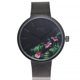 Relojes de pulsera de pulsera antiguos online-Pulsera de las mujeres antiguas relojes de cuarzo ocasional banda de acero inoxidable correa de mármol relojes analógico reloj de pulsera señoras reloj _STH