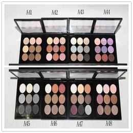 Prix palette de fard à paupières en Ligne-prix le plus bas 2018 Nouveautés maquillage palette de fard à paupières 9 couleurs 0,8g