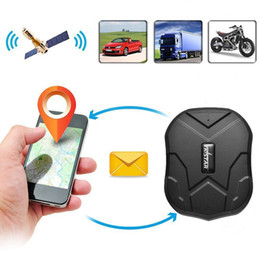 Foto espanhola on-line-TKSTAR 5000mAh longa vida da bateria em standby 120 dias TK905 Quad Band GPS Tracker Waterproof dispositivos Tempo real Rastreamento GPS Car Locator