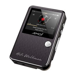 Wholesale max audio - Amoi C50 Lossless Portable HIFI Music Sport MP3 Player Hard DSD256 Hi-Res Audio DAC4398+97220A Support OTG Line Out MAX 128GB