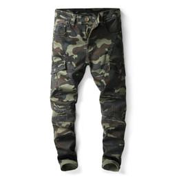 Pantalons cargo jeans slim hommes en Ligne-Pantalon long cargo vert pour homme Costumes pour hommes jeans skinny homme