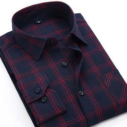 оптовые дешевые удобные повседневные Фланелевые мужские рубашки плед от
