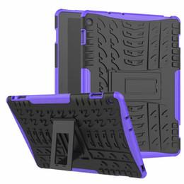 Tablet de armadura on-line-Caso para huawei m5 10 pro CMR-AL09 CMR-W09 10.8 'híbrido armadura Kickstand caso difícil para Huawei MediaPad M5 10.8 tampa Tablet + caneta