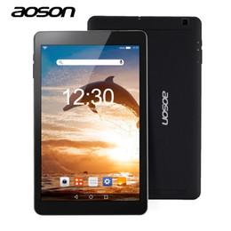 2019 tableta ram 2 gb 16 gb Aoson R101 tablet 10.1 pulgadas Android 6.0 Tablet PC Quad Core 2GB + 16GB RAM MTK 8163 800 * 1280 IPS 5000 mAh GPS WIFI Phablet tableta ram 2 gb 16 gb baratos