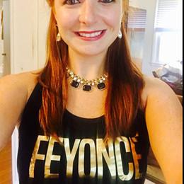 Hacer camisetas personalizadas online-Camisa por encargo de Feyonce, camisas de la despedida de soltero, regalo nupcial de la ducha, camisetas sin mangas del partido de la soltera, regalo de la dama de honor, nupcial