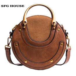 Sfg Haus 2018 Kleine Taschen Für Frauen Gefälschte Tasche Mini Messenger Taschen Berühmte Marke Frauen Handtaschen Vintage Leder Schulter Taschen Damentaschen