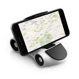 2019 montaje pegajoso del coche del iphone Soporte universal pegajoso para automóvil VW Dashboard Desktop Mount Antideslizante soporte para teléfono móvil para tableta GPS para iPhone X montaje pegajoso del coche del iphone baratos