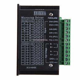Wholesale cnc driver stepper controller - TB6600 Single Axis 4A Stepper Motor Driver Controller 9~40V Micro-Step CNC