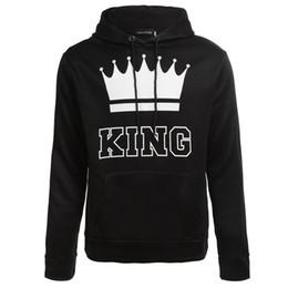 bda5b64ecb Wholesale new style men's casual couples dress Queen King crown printed  Hoodie ladies jumper Hoodie