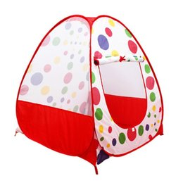 Wholesale Ball House Tent - 2017 Baby Kids Toys Tent Indoor Outdoor Game House Curtains Home Portable Playhouse Folding Ocean Ball Play House
