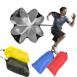 Gadgets de plein air Vitesse Résistance Puissance de parachute Course de course en plein air Outil d'exercice pour la formation de football Parachute Parapluie Rouge / Bleu ? partir de fabricateur