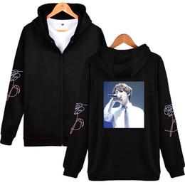 Wholesale Korea Women Clothes - BTS K-Pop Love Yourself Tracksuit Bangtan Boys Stay Picture JUNG KOOK Sweatshirt Women Zipper Korea Fashion Mens Hoodies Clothes