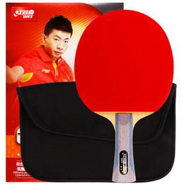 raquetes de tênis de mesa dupla felicidade Desconto DHS Dupla Felicidade 6002 6006 raquete de tênis de mesa dupla reversa interior sportPong Raquete loop rápido com encobertos