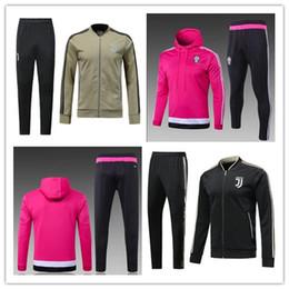 Wholesale football winter jackets - 2018 Dybala Juve jacket Suits Uniforms Shirts 18 19 Football Camiseta de Futbol Buffon MARCHISIO Winter Survetement Tracksuits