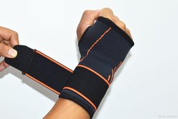 Wholesale carpal wrist brace - Free DHL 1PCS Adjust Wristband Steel Wrist Brace Wrist Support Splint Fractures Carpal Tunnel Sport Sprain Mouse Hand Wristbands G447S