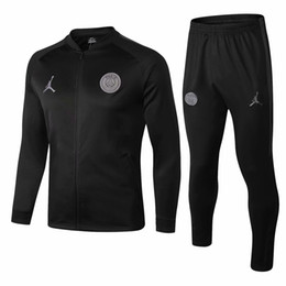 Los más vendidos nuevo chándal de PSG VERRATTI Di María 18 19 Paris Saint Germai Sportswear Suit CAVANI traje de entrenamiento camiseta de fútbol MBAPPE fútbol desde fabricantes