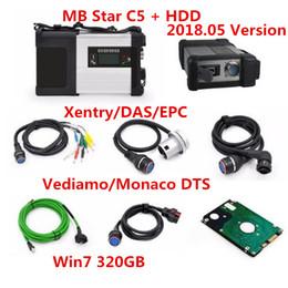 logiciel de diagnostic mb star Promotion 2018 Outil de diagnostic mb star c5 sd connect Wifi Diagnostic SD C5 Fonction sans fil avec 320GB HDD software 2018.05 Multi-langue