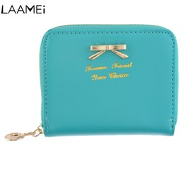 c922c17f037bb Laamei Female Purse Mini Card Case Cheap Womens Wallets Women s Purse Thin  Zipper Women s Wallet Ladies PU Leather Wallets