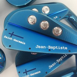 Wholesale Wood Saints - Playwell 2018 Jean Baptiste Saint Germain blade blue color golf iron head forged carbon steel CNC iron wood