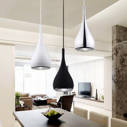 Wholesale Tom Dixon Lampshade - Modern pendant Lamp Fixtures Dia 16cm Aluminum Lampshade Industrial Lighting Loft Lamparas Dining Room Nordic Pendant Lights