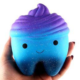 Милые сотовый телефон ремни онлайн-12 см Emoji лицо зубы мягкий медленный рост Джамбо выжать милый сотовый телефон ремень хлеб торт кулон эластичный игрушка в подарок
