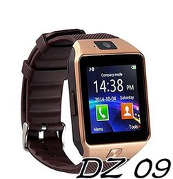 Wholesale iphone rating - DZ09 Smart Watches Touch Screen Support SIM TF Card Pedometer Activity Tracker Camera Bluetooth Wearable Technology for iPhone Android Phone