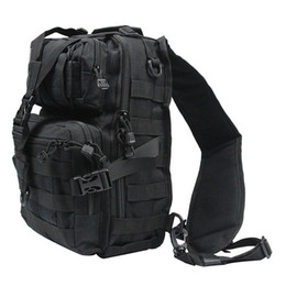 Wholesale archery outdoors - Outdoor Tactical ry Backpack Hunting Military Sports Sling Pack Molle Utility Bag