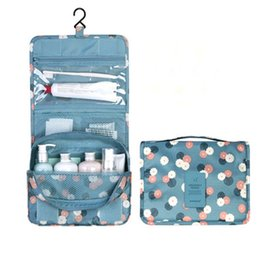 09f79e490b hanging travel toiletry kit 2019 - Hanging Toiletry Kit Clear Travel  Storage Bag Cosmetic Pockets For