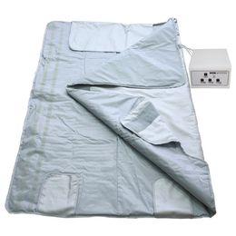 Новый arrivalFar сжигания жира водонепроницаемый 3 зоны дальней инфракрасной одеяло сауна похудения Потеря веса отопление wrap detox красоты от Поставщики спортивные соревнования