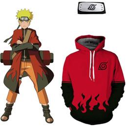 2019 diademas asiáticas Tamaño asiático Japón Anime Naruto 7th Halloween Hokage Cosplay suave traje unisex 3D manga larga chaqueta abrigo con capucha Diadema rebajas diademas asiáticas
