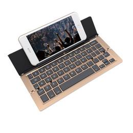 2019 складывающаяся клавиатура bluetooth New F18 Portable folding keyboard Touchpad Keypad Foldable Bluetooth Keyboard BT Wireless for IOS/Android/Windows ipad Tablet дешево складывающаяся клавиатура bluetooth