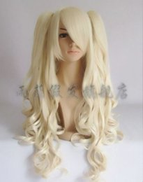 Лолита косплей парик бледная блондинка лолита волосы высокой температуры проволоки + клип хвостик supplier wig cosplay blonde ponytail от Поставщики парик косплей блондинка-конский хвост