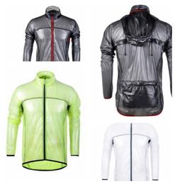 Capa de ciclismo impermeable online-Ciclismo impermeable capa de polvo rompevientos chaqueta de bicicleta Jersey impermeable de la bicicleta a prueba de viento de la bici ciclismo impermeable KKA4320