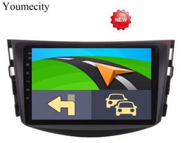 Toyota rav4 dvd gps android online-¡NUEVO !!! Reproductor de DVD del coche de Android 8.1 para Toyota RAV4 Rav 4 2007 2008 2009 2010 2011 2 din 1024 * 600 dvd del coche gps navegación wifi rds