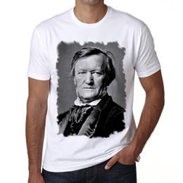 Canada Richard Wagner Tshirt, Célébrités Blanc Homme, Cadeau De Mode Homme À Manches Courtes Pas Cher Vente O Cou T-shirt Livraison Gratuite supplier cheap celebrity t shirts Offre